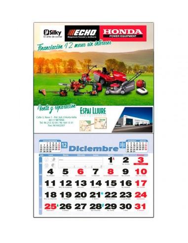 Calendario Pared + Notas Grande
